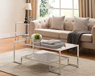 Amazon.com: Silver - Coffee Tables / Tables: Home & Kitchen