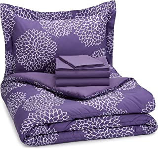 dark purple comforter twin xl