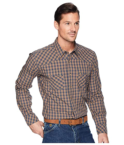 1940s Style Mens Shirts, Sweaters, Vests Ariat Raskin Shirt Weatherboard Mens Long Sleeve Button Up $54.95 AT vintagedancer.com
