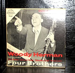 "Woody Herman and His Orchestra - Four Brothers - 7"" Vinyl EP Record"