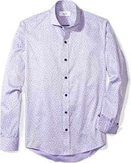 Buttoned Down Men's Slim Fit Supima Cotton Cutaway-Collar