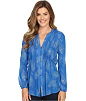 Lucky Brand - Feather Print Blouse