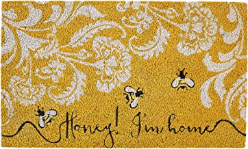 DII Spring/Summer Doormat, 18x30x0.5, Honey I'm Home