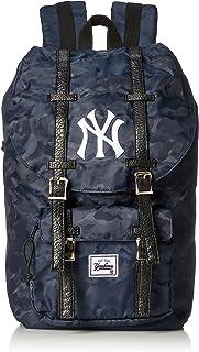 [MAJERRYG棒球] 双肩包 双肩包 双肩包 迷彩 长裙 女士 男士 大容量 YK-MBBK46