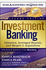 Investment Banking: Valuation Models + Online Course Hardcover