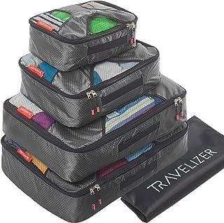 ترافيليزر - مجموعة من 5 قطع لتنظيم الأمتعة وحقيبة السفر