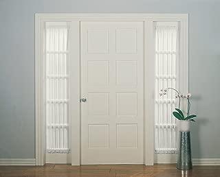 No. 918 Emily Sheer Voile Door Curtain Panel, 28