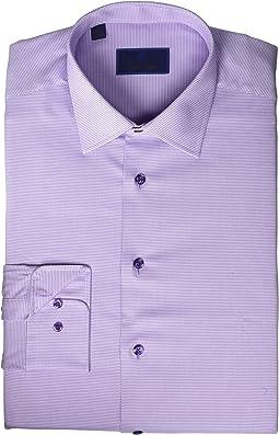 Regular Fit Micro Tonal Tic Dress Shirt