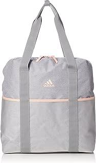 adidas ID Tote, Medium Grey Heather/Clear Orange/Grey Four, (CZ5896)