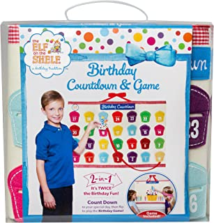 Elf on the Shelf Birthday Advent Calendar Countdown and Game