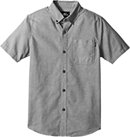 Banks Short Sleeve Woven Top (Big Kids)