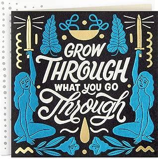 Hallmark Good Mail Thinking of You Card, Encouragement Card, Sympathy Card (Grow Through What You Go Through)