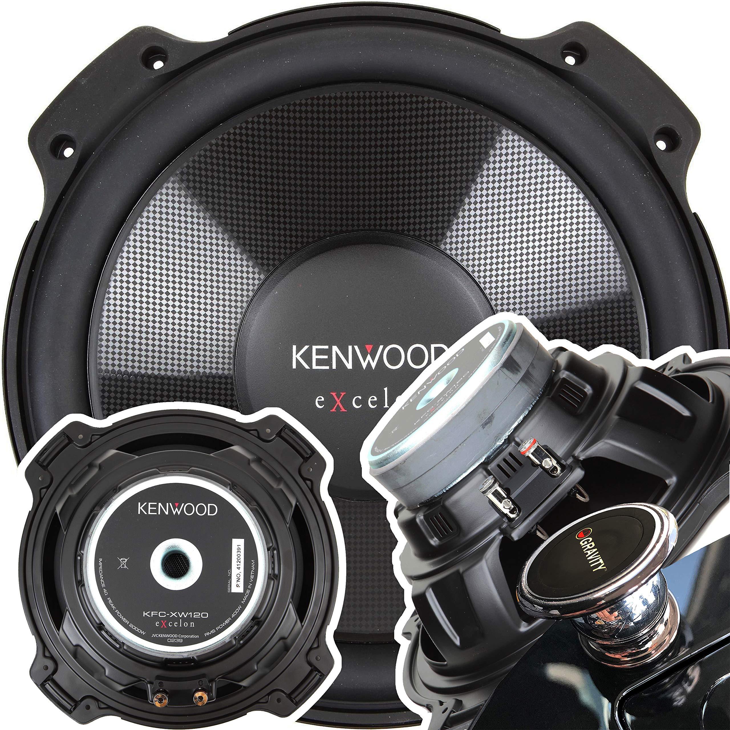 Kenwood Excelon KFC XW120 2000W Subwoofer