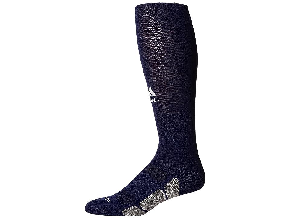 adidas Kids Utility Over the Calf (Dark Blue/White/Light Onix) Kids Shoes