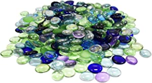 Decorative Accents Set of Exotic Aquarium and Vase Gems and Shells! Around 2 Pounds of Gems Perfect for Aquariums, Vase Fillers, Table Scatter, Scrapbooking and Much More!