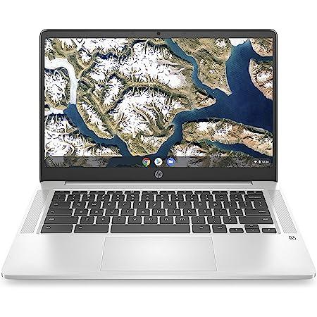 HP Chromebook 14-inch HD Laptop, Intel Celeron N4000, 4 GB RAM, 32 GB eMMC, Chrome (14a-na0010nr, Mineral Silver)
