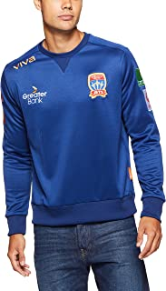 Viva Men's Newcastle Jets Player Authentic Sweat Shirt