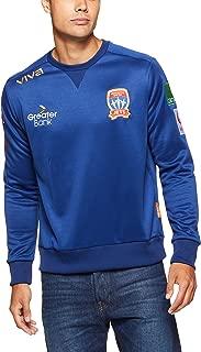 Viva Men's Newcastle Jets Player Authentic Sweat Shirt