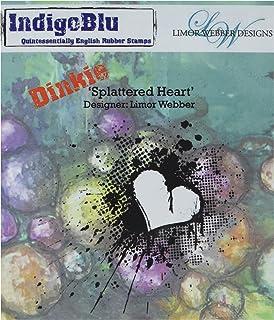 ختم للتثبيت على شكل قلب من IndigoBlu