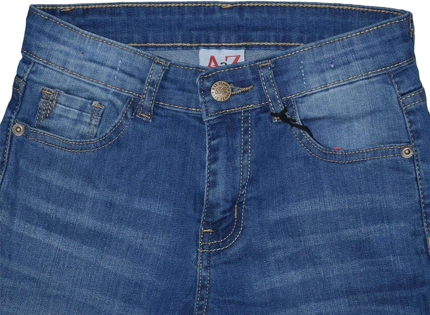 A2Z 4 Kids Pantalon en jean extensible pour gar/çon Motif licorne 3 4 5 6 7 8 9 10 11 12 13 14 ans