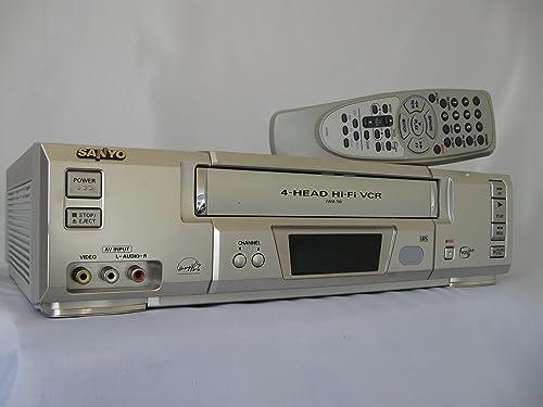 Sanyo VWM-700 VCR 4-Head Hi-Fi Stereo Video Cassette Recorder product image