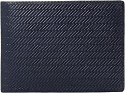 Bolt Embossed Slim Bifold