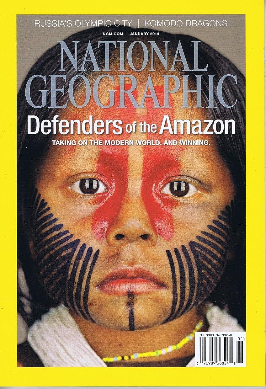 ソブリケット菊口径National Geographic [US] January 2014 (単号)