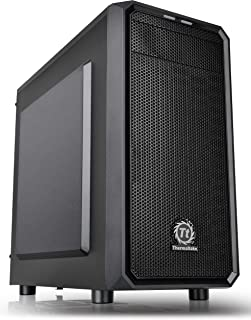 Thermaltake Versa H15 Micro ATX Mini Tower Computer Chassis 2.0 Edition with One 120mm Rear Fan Pre-Installed CA-1D4-00S1N...
