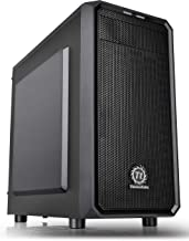 Thermaltake Versa H15 Micro ATX Mini Tower Computer Chassis 2.0 Edition with One 120mm Rear Fan Pre-Installed CA-1D4-00S1NN-A0