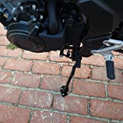 // MT-07 MOTO CAGE//Tracer 700 FJ-07 // XSR700 Black//Blue Kickstand/Shoes FZ-07 Xitomer/Motorcycle/Side/Stand Enlarger,/Extension/Enlarger/plate,/For Yamaha MT-07