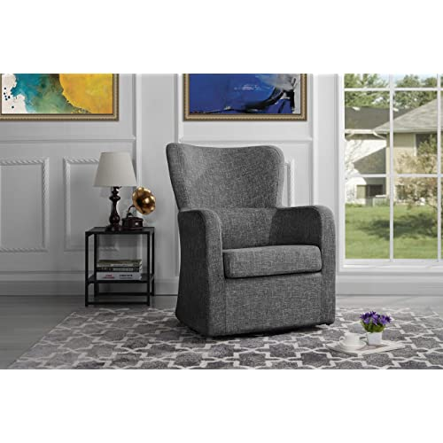 Outstanding Swivel Accent Chairs Amazon Com Creativecarmelina Interior Chair Design Creativecarmelinacom