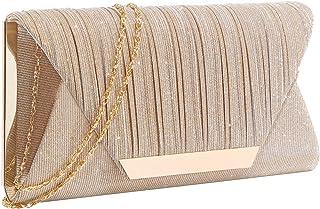 کیف پول کلاچ زرق و برق مخصوص کیف های زنانه و کلاچ کیف دستی کیف دستی پاکت رسمی جشن عروسی رسمی کیف پول