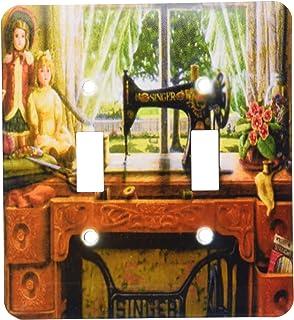 3dRose LLC lsp_100349_2 Imagen de 1899 Singer máquina de co