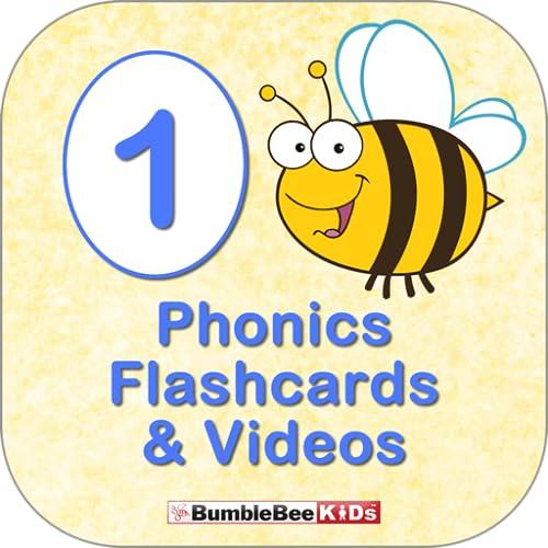 BumbleBee Kids Phonics Deck 1- Video Flashcard Player