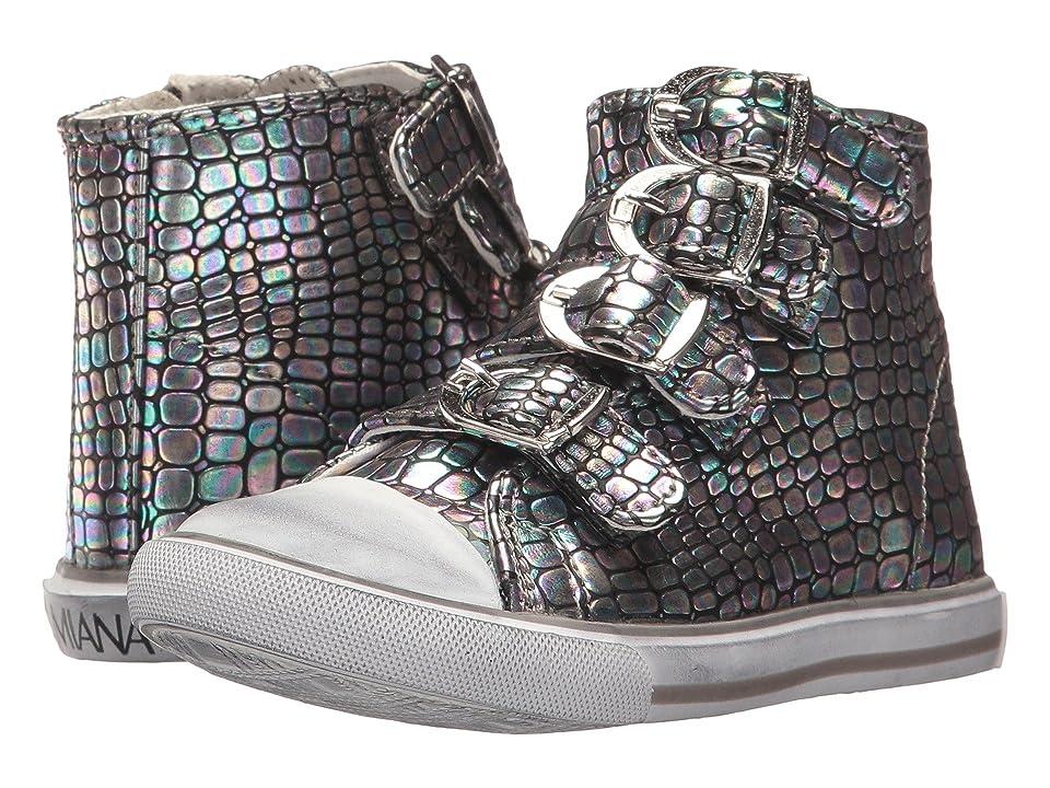 Amiana 15-A5172 (Toddler/Little Kid/Big Kid/Adult) (Irri Cajun Pewter) Girls Shoes