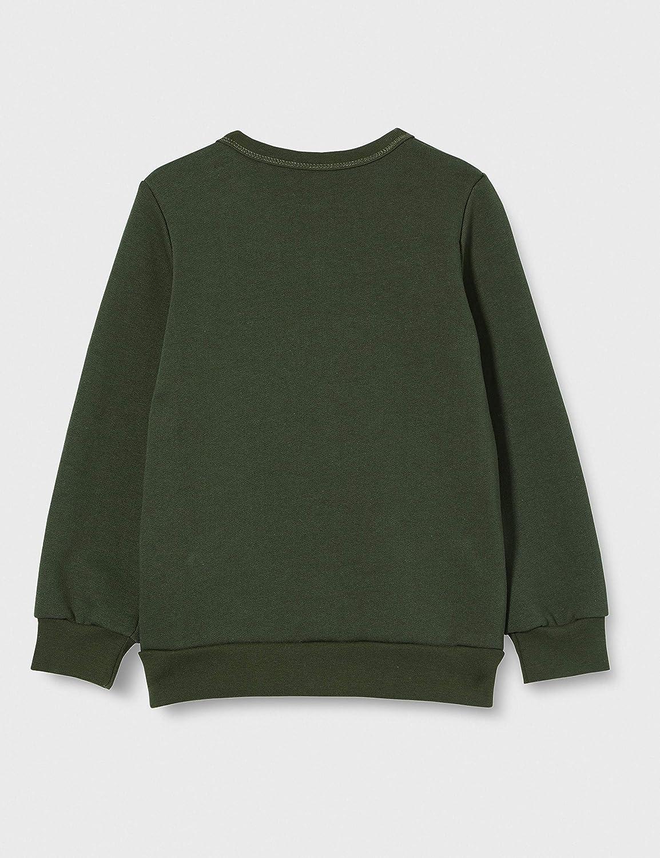 M/üsli by Green Cotton Check Sweatshirt Baby Maglia di Tuta Bimbo