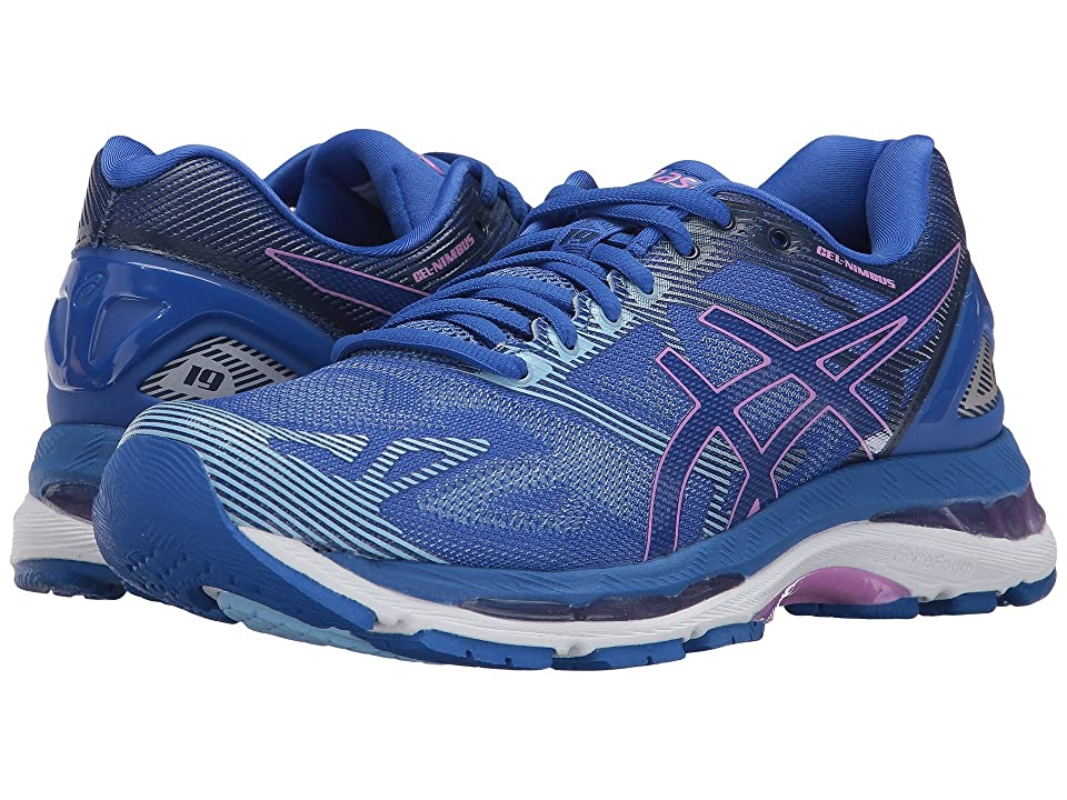 ASICS GEL-Nimbus(r) 19 (Blue Purple/Violet/Airy Blue) Women