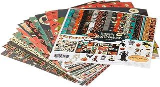 Carta Bella Paper Company Happy Halloween Collection Kit paper, orange, black, blue, navy