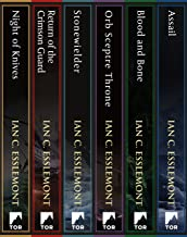The Malazan Empire Series: (Night of Knives, Return of the Crimson Guard, Stonewielder, Orb Sceptre Throne, Blood and Bone, Assail) (Novels of the Malazan Empire)