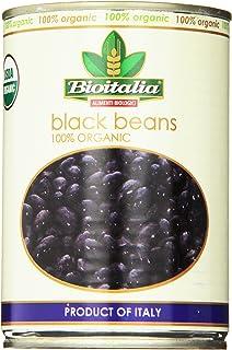 Bioitalia Black Beans, 14 Ounce (Pack of 12)