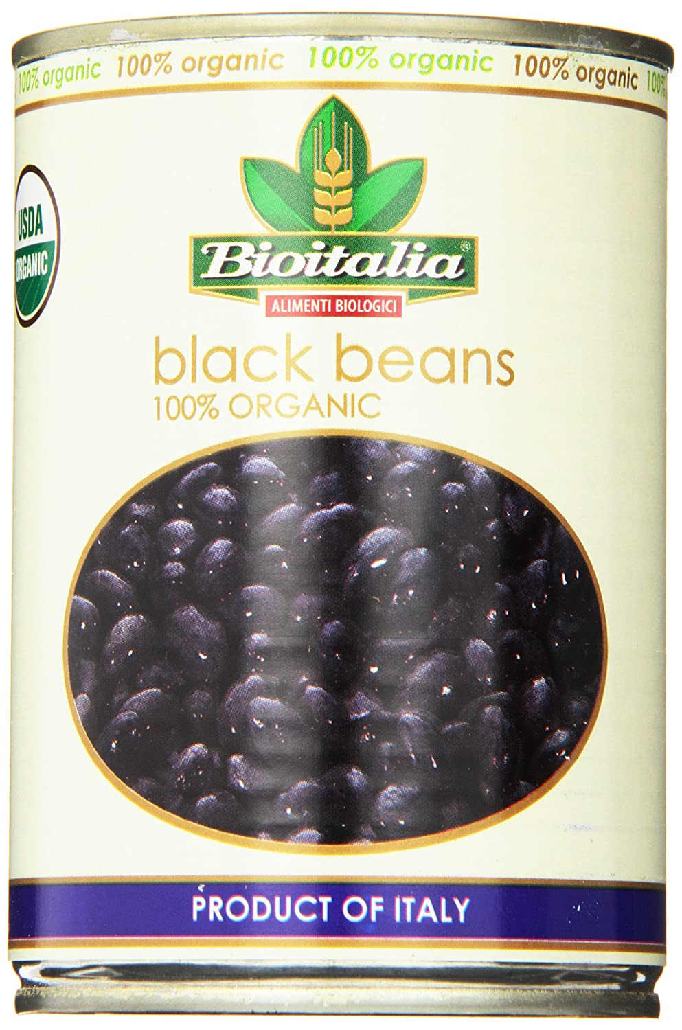 Limited time for free shipping Bioitalia Black SALENEW very popular Beans 14 of Ounce 12 Pack