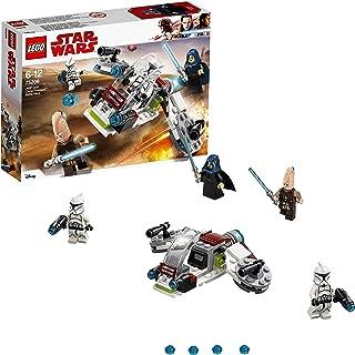 LEGO Star Wars Jedi & Clone Troopers Speeder Building Set Incl. Ki-Adi Mundi Minifigure