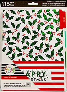 happy planner christmas extension