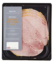 Booths British Breaded Dry Cured Ham, 110 g