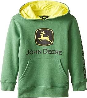 John Deere Tractor Little Boys' Pullover Fleece Hoody Sweatshirt