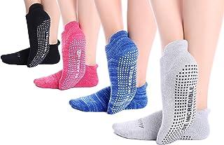Yoga Socks for Women Barre Sock Grip Non-Slip No-Skid Pilates Hospital Maternity …