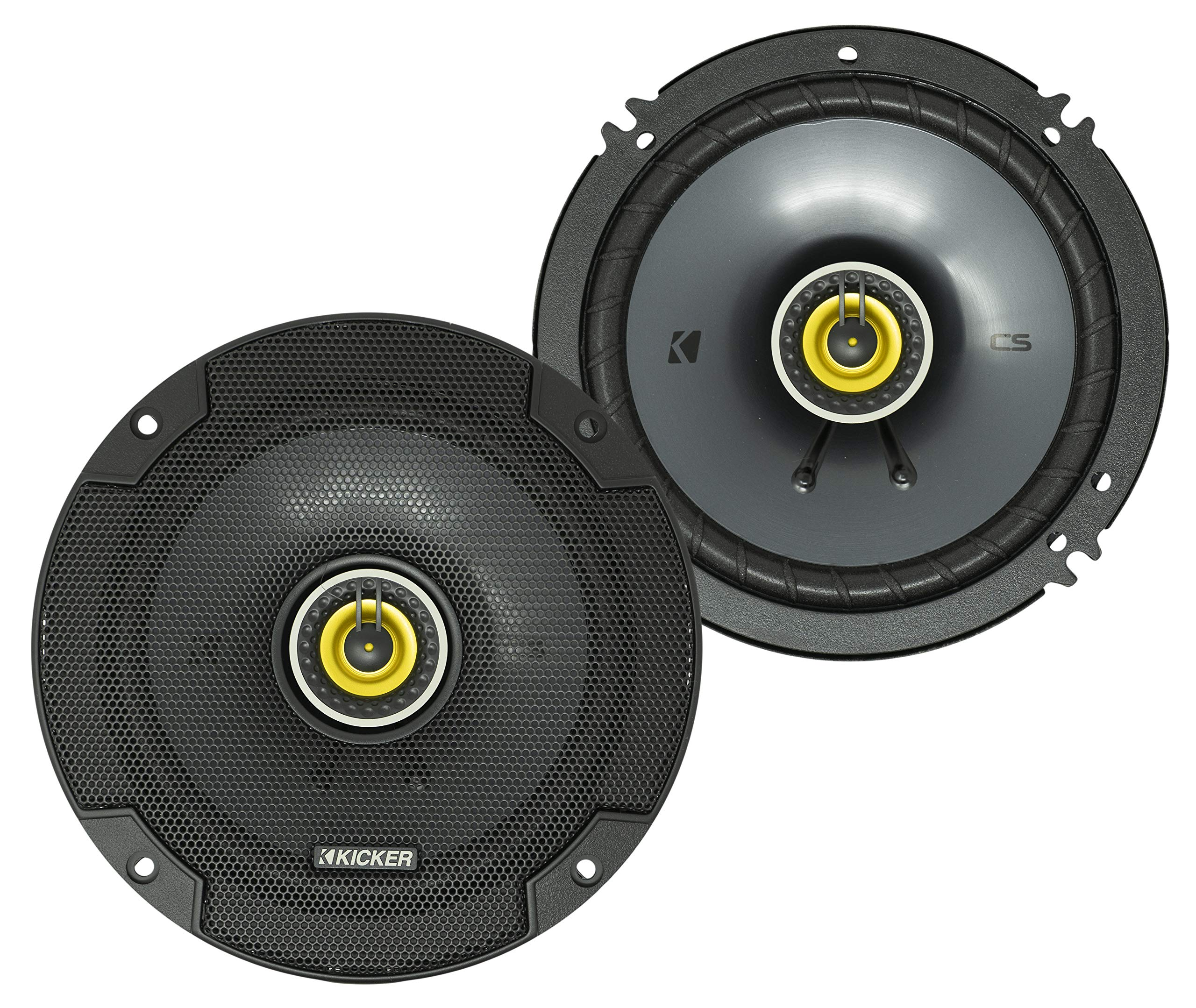 Kicker 46CSC654 Coaxial Stereo Speakers