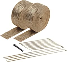 Design Engineering 010095 Titanium Heat Wrap Kit with LR Technology, (2) 2