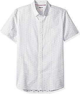 Amazon Brand - Goodthreads Men's Standard-Fit Short-Sleeve Dobby Shirt