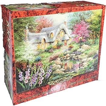 Nicky Boehme A Canine Sanctuary 1000 Piece Jigsaw Puzzle Applejack Art Partners 30004-6